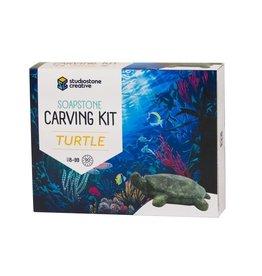 Studiostone Creative Turtle Soapstone Carving Kit