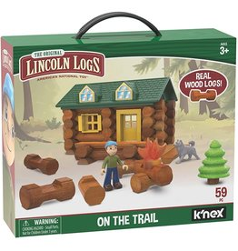 Lincoln Logs On the Trail Building Set