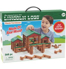 Lincoln Logs Classic Farmhouse Building Set