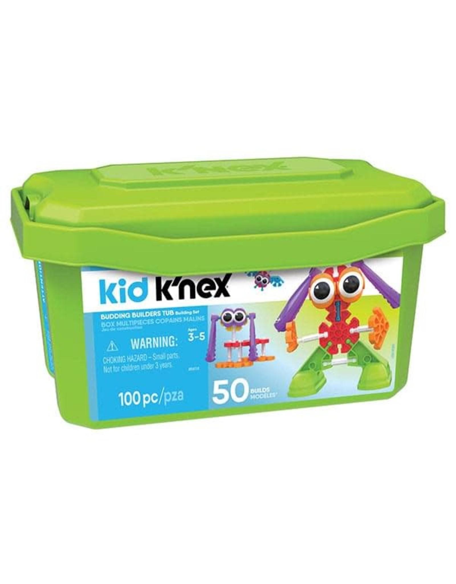 K'Nex Budding Builders Tub