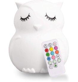 Lumieworld Lumipets, LED Owl Night Light with Remote