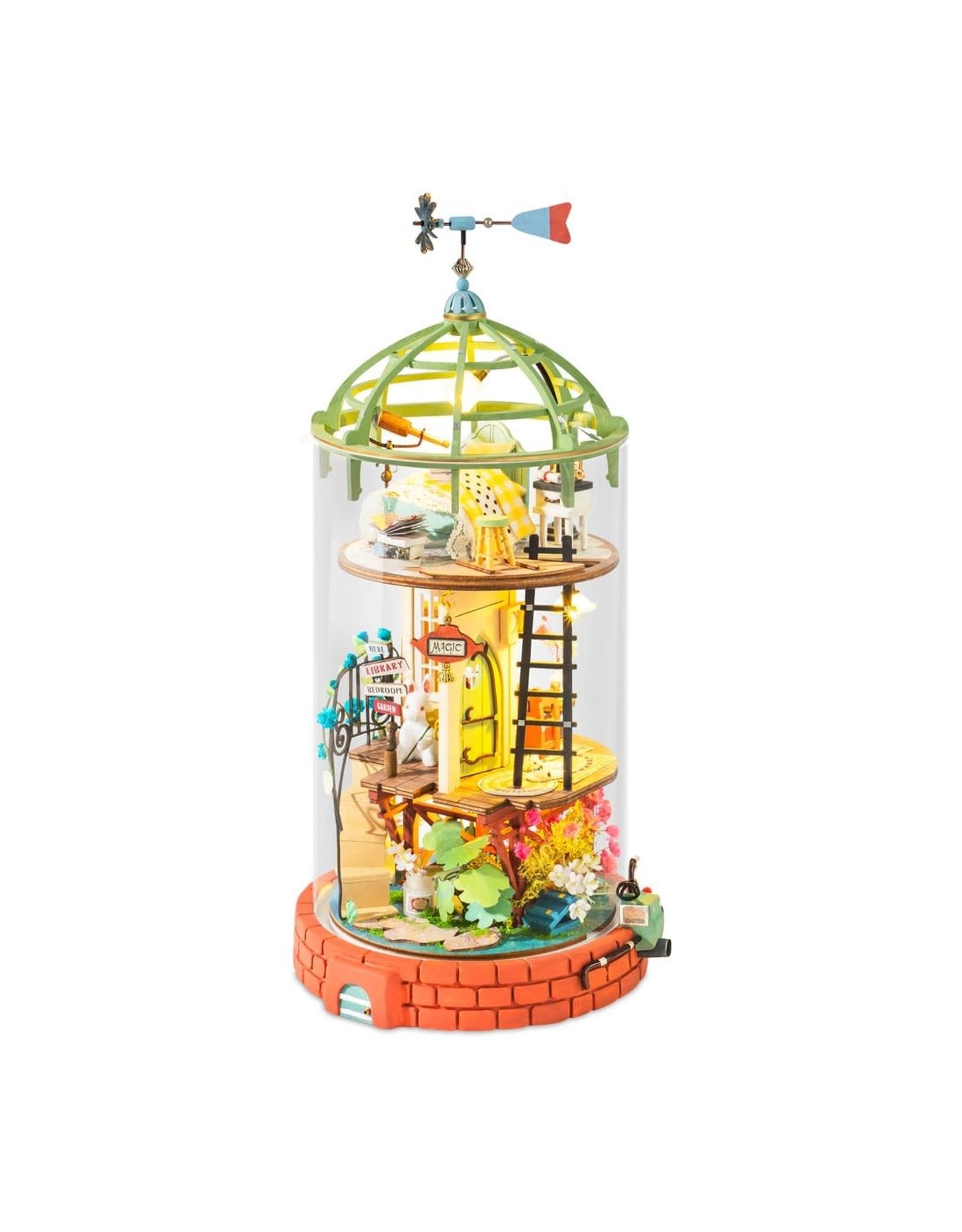 Hands Craft Domed Loft DIY Miniature Dollhouse Kit