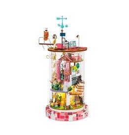 Hands Craft Bloomy House DIY Miniature Dollhouse Kit