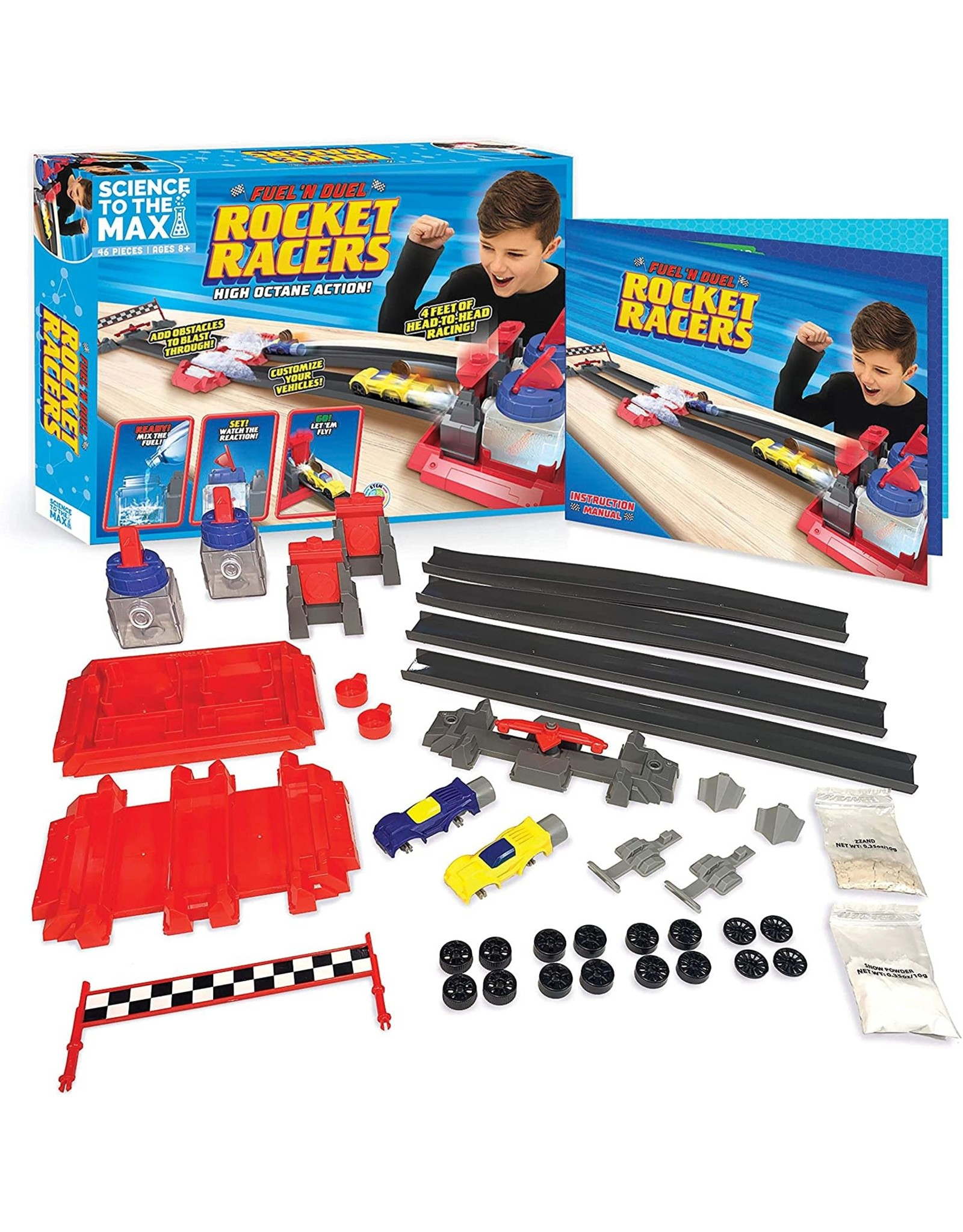 Be Amazing Toys Fuel N' Duel Rocket Racer
