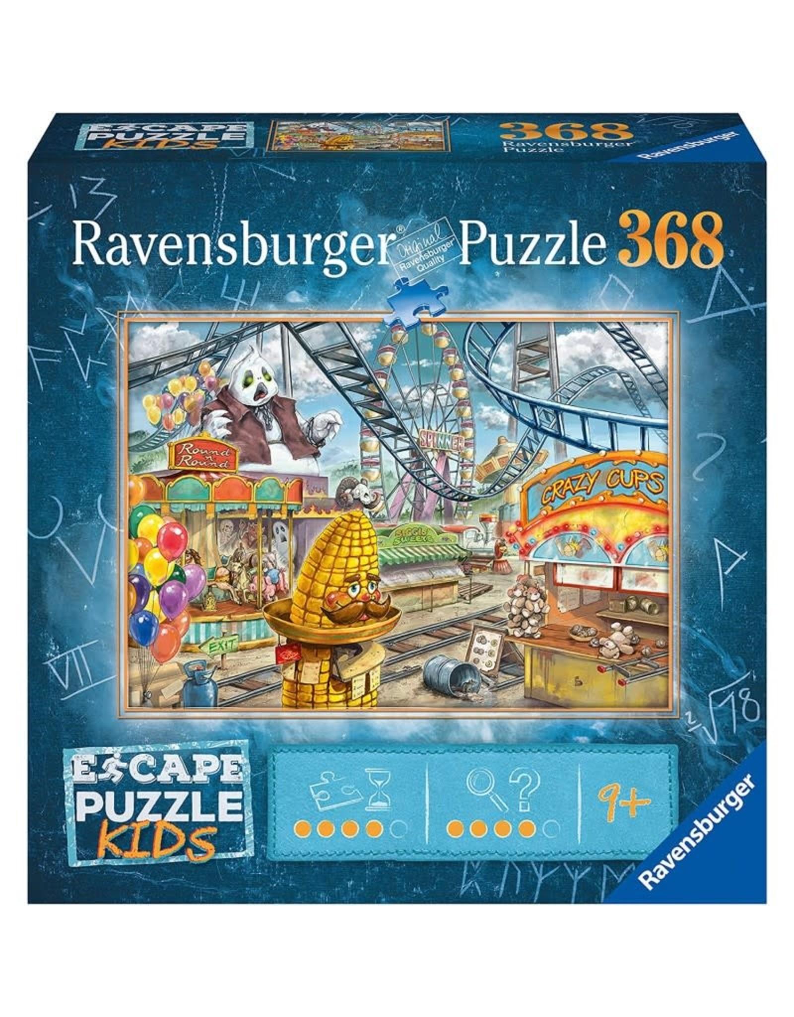 Ravensburger 368 pcs. Escape Kids Amusement Park Puzzle
