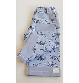 Georgi Pearson Quilty Pants, Grey Dinosaur Toss