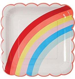 Meri Meri Rainbow Plates, Large