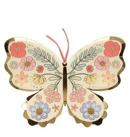Meri Meri Floral Butterfly Plates
