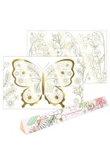 Meri Meri Butterfly Colouring Posters