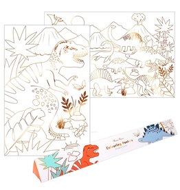 Meri Meri Dinosaur Kingdom Colouring Posters