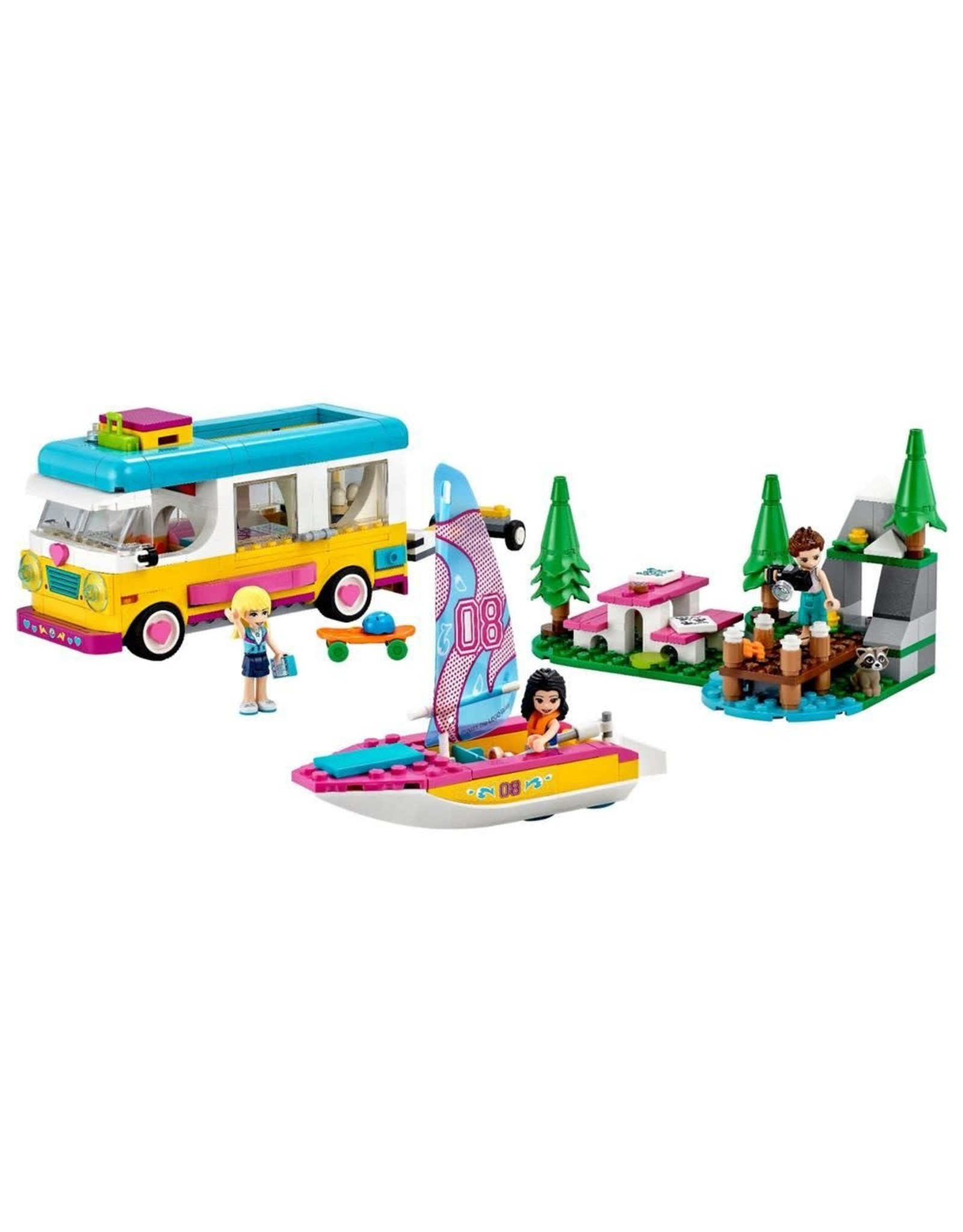 LEGO LEGO Friends, Forest Camper Van & Sailboat