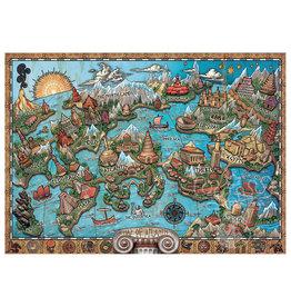 Ravensburger 1000 pcs. Mysterious Atlantis Puzzle