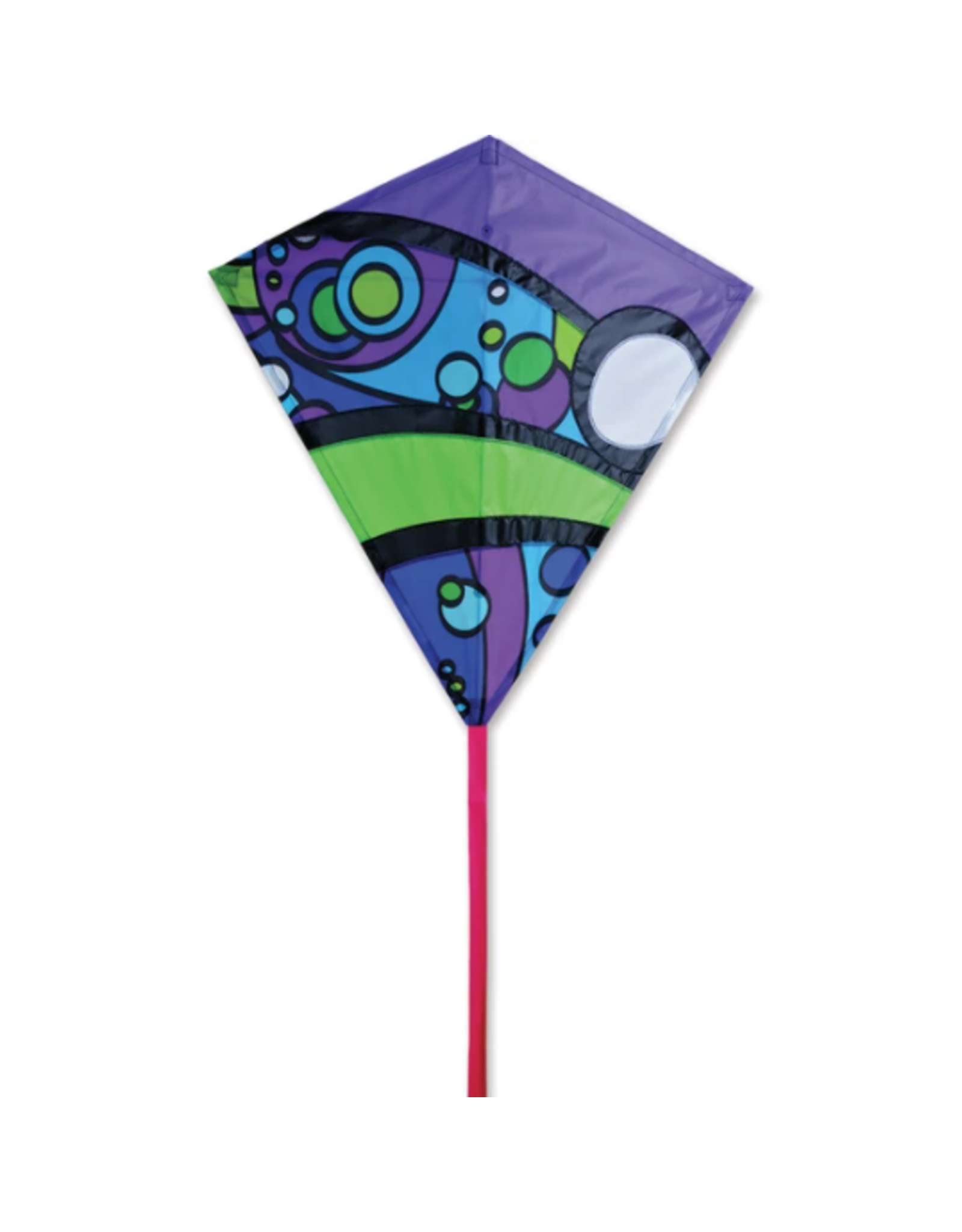"Premier Kites 30"" Diamond Kite, Cool Orbit Kite"