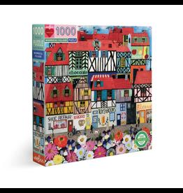 Eeboo 1000 pcs. Whimsical Village Puzzle