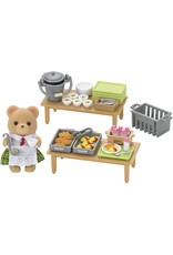 Calico Critters Calico Critters School Lunch Set