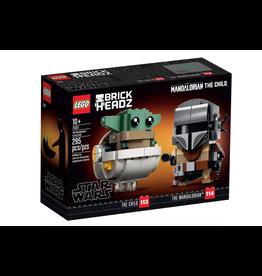 LEGO LEGO Star Wars, Brick Heads, The Mandalorian & The Child