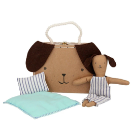Meri Meri Stripy Puppy Mini Suitcase