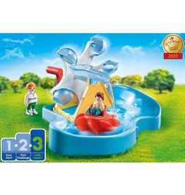 Playmobil 1.2.3 Water Wheel Carousel