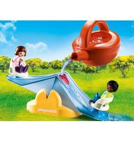 Playmobil 1.2.3 Water Seesaw with Watering Can