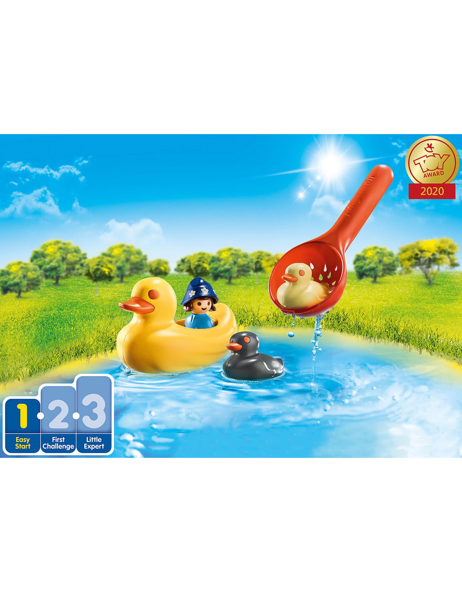 Playmobil 1.2.3 Duck Family