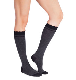 Belly Bandit Compression Sock 20 mmHg, Charcoal, 8-11