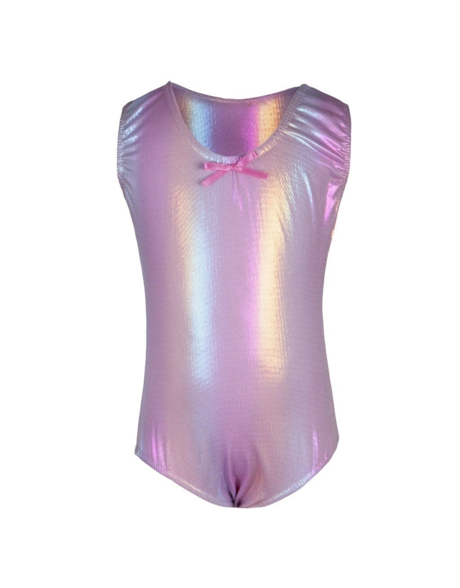 Great Pretenders Bodysuit Rainbow Pink, Size 5-6