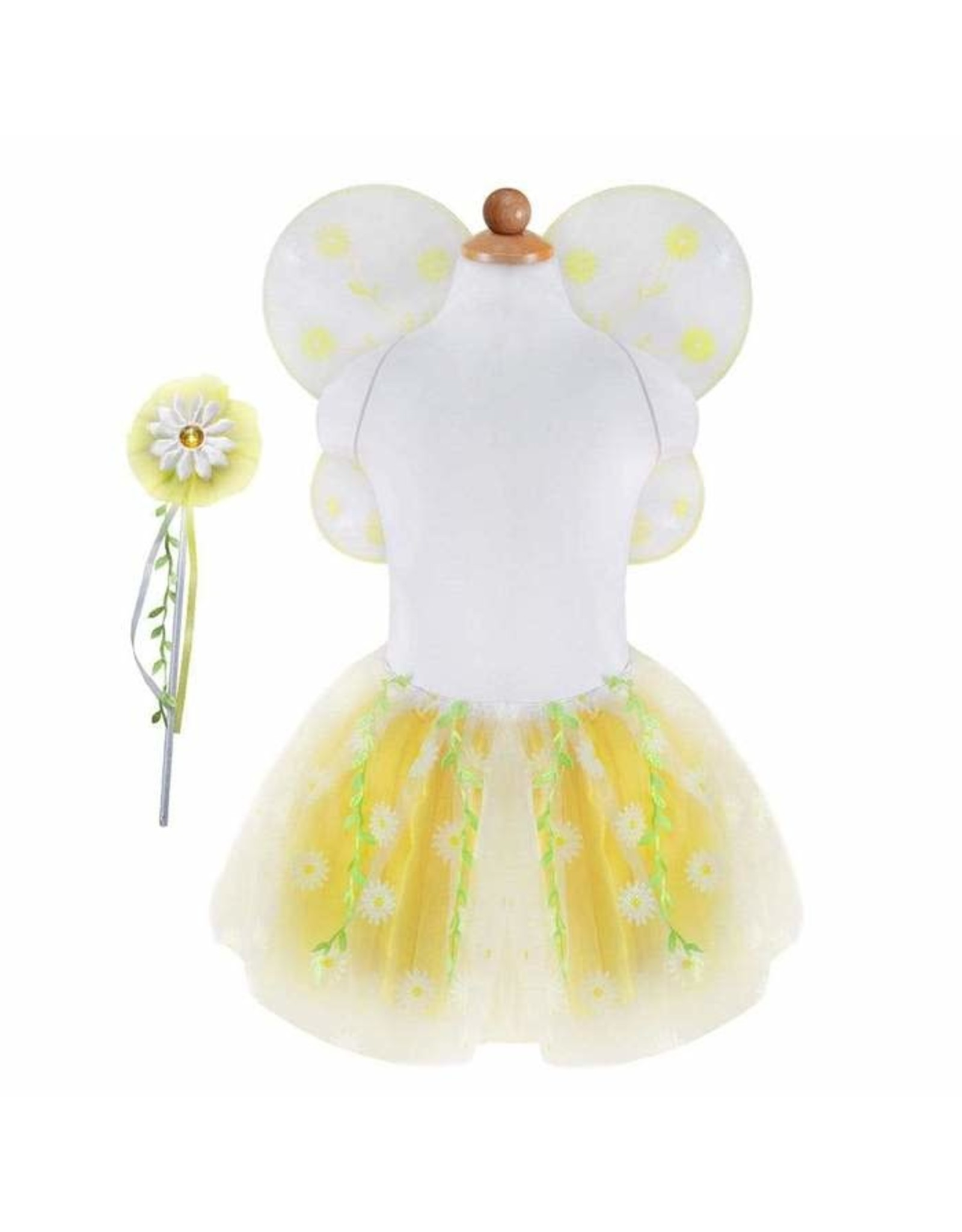 Great Pretenders Daisy Tutu with Wings & Wand, Size 4-6
