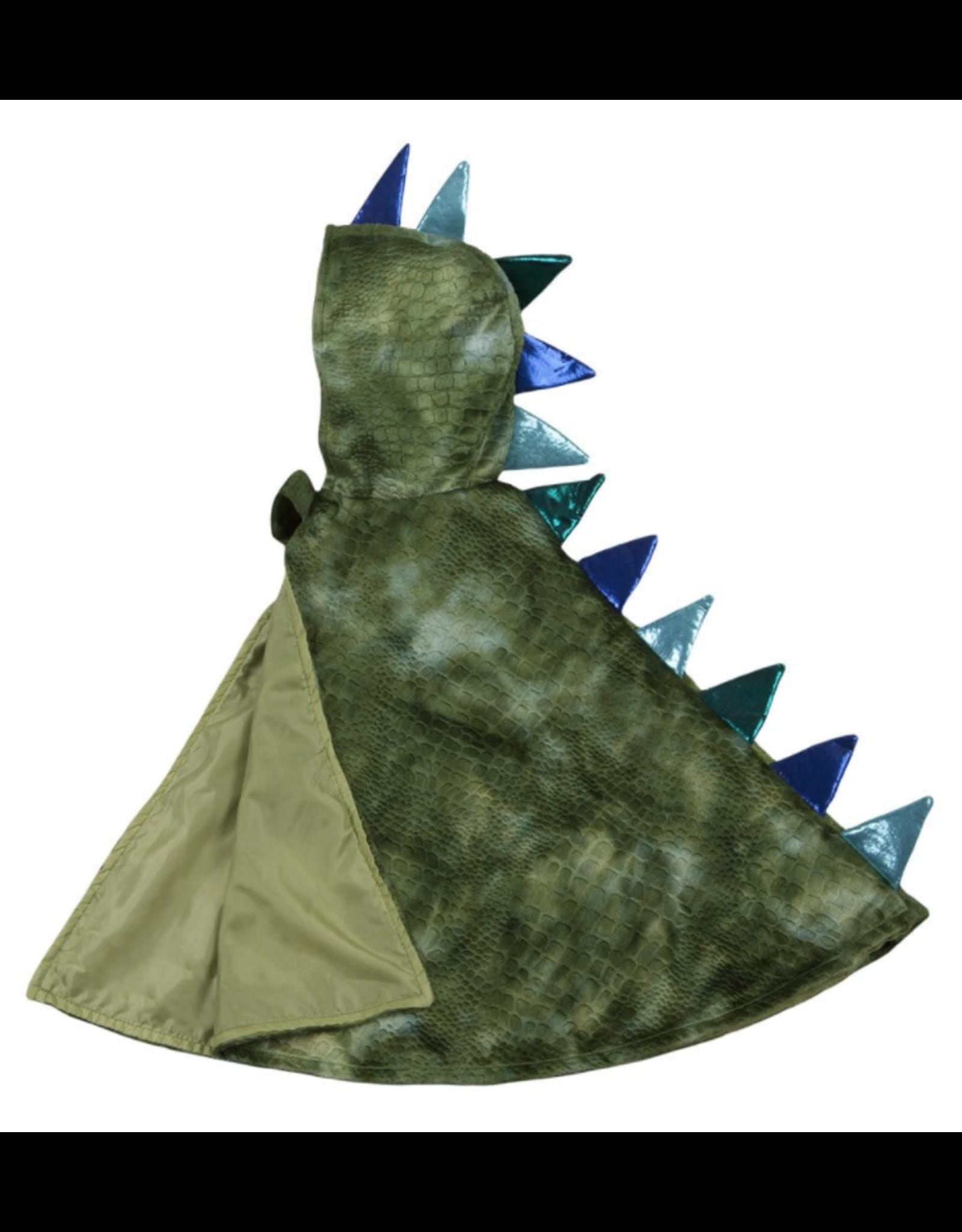 Great Pretenders Dragon Baby Cape Green/Blue, Size 12-24M
