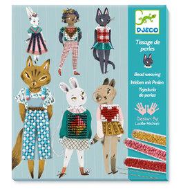 Djeco Bead Embroidery, Kitty Cat