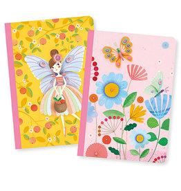 Djeco Little Notebooks, Rose