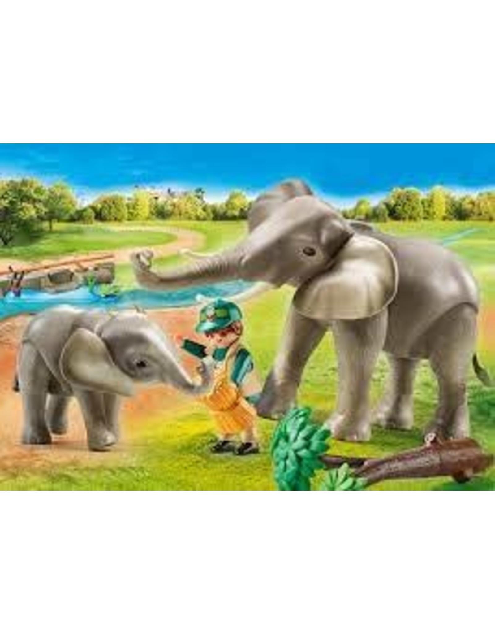 Playmobil Elephant Habitat