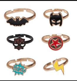 Great Pretenders Superhero Rings, Single Assorted