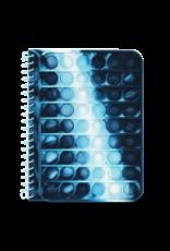 Iscream Blue Tie Dye Popper Journal