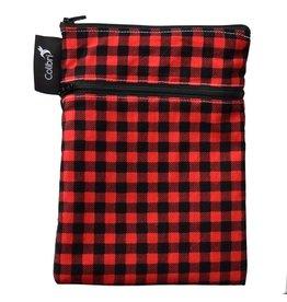 Colibri Mini Double Duty Wet Bag, Plaid