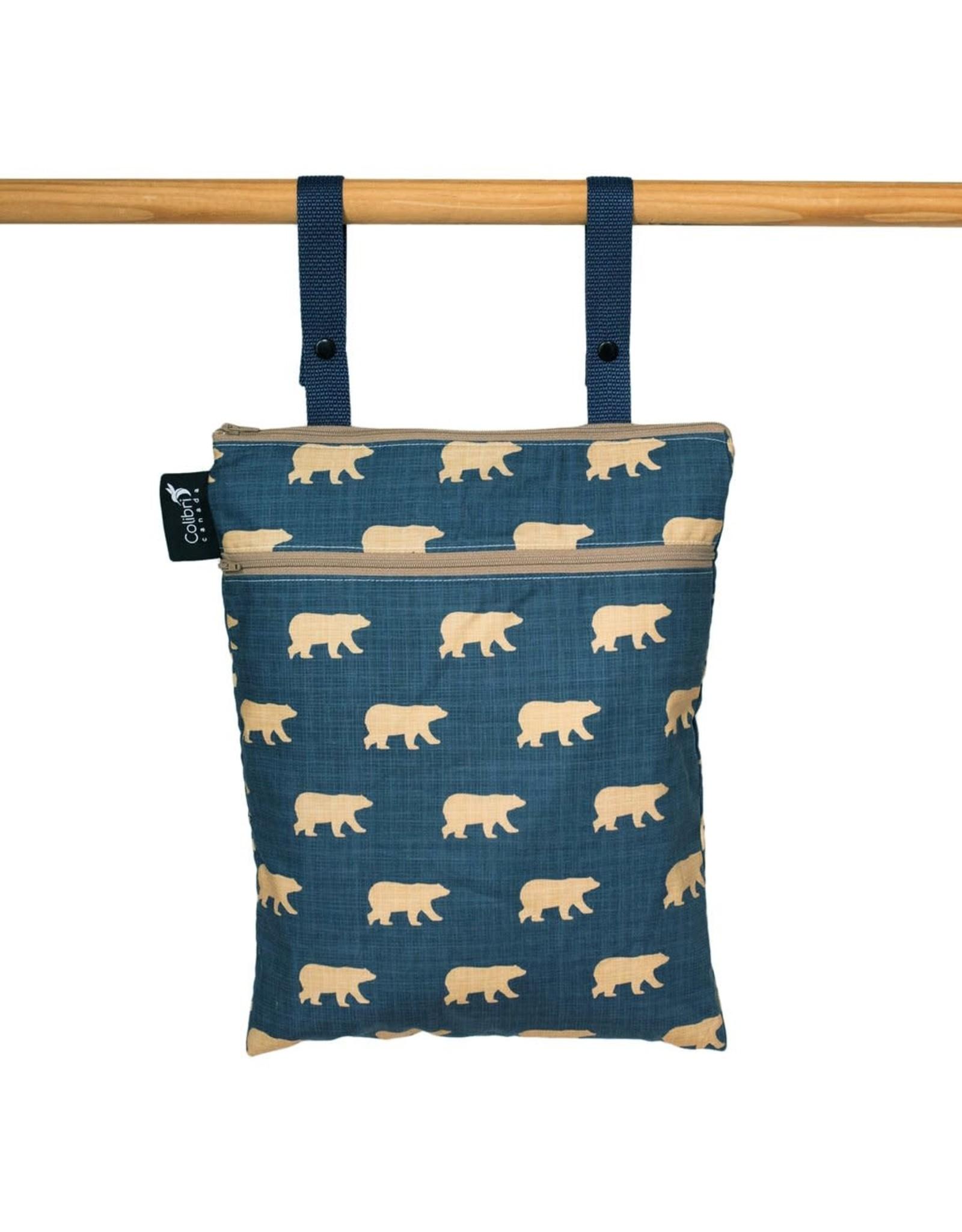 Colibri Double Duty Wet Bag, Bears