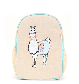 So Young Toddler Backpack, Groovy Llamas