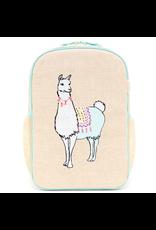 So Young Grade School Backpack, Groovy Llama
