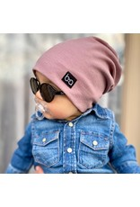Babyfied Apparel Beanie Hat Ash Rose, 6-36m