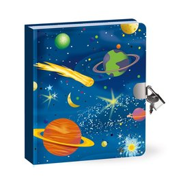 Peaceable Kingdom Deep Space Glow in the Dark Diary