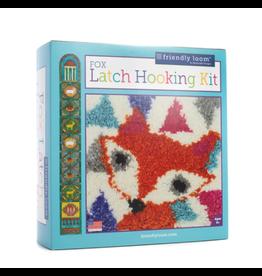 Friendly Loom Fox Latch Hooking Kit