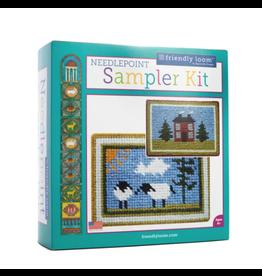 Friendly Loom Needlepoint Sampler Kit