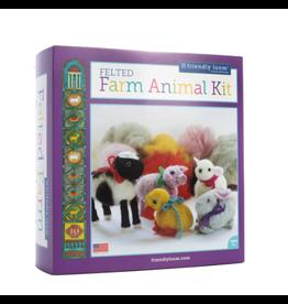 Friendly Loom Felted Animal Farm Kit