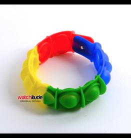 Watchitude Pop'd Bracelet, Rainbow