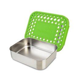 LunchBots LunchBots Medium Uno, Green Dots