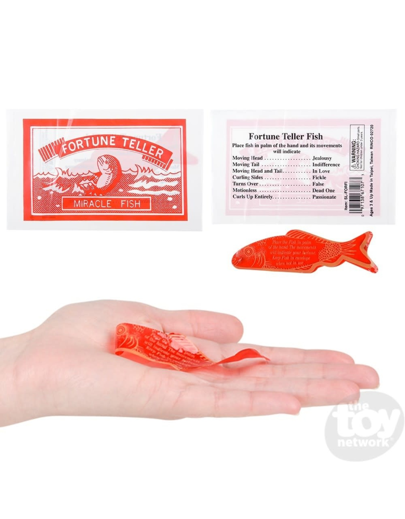 The Toy Network Fortune Teller Fish