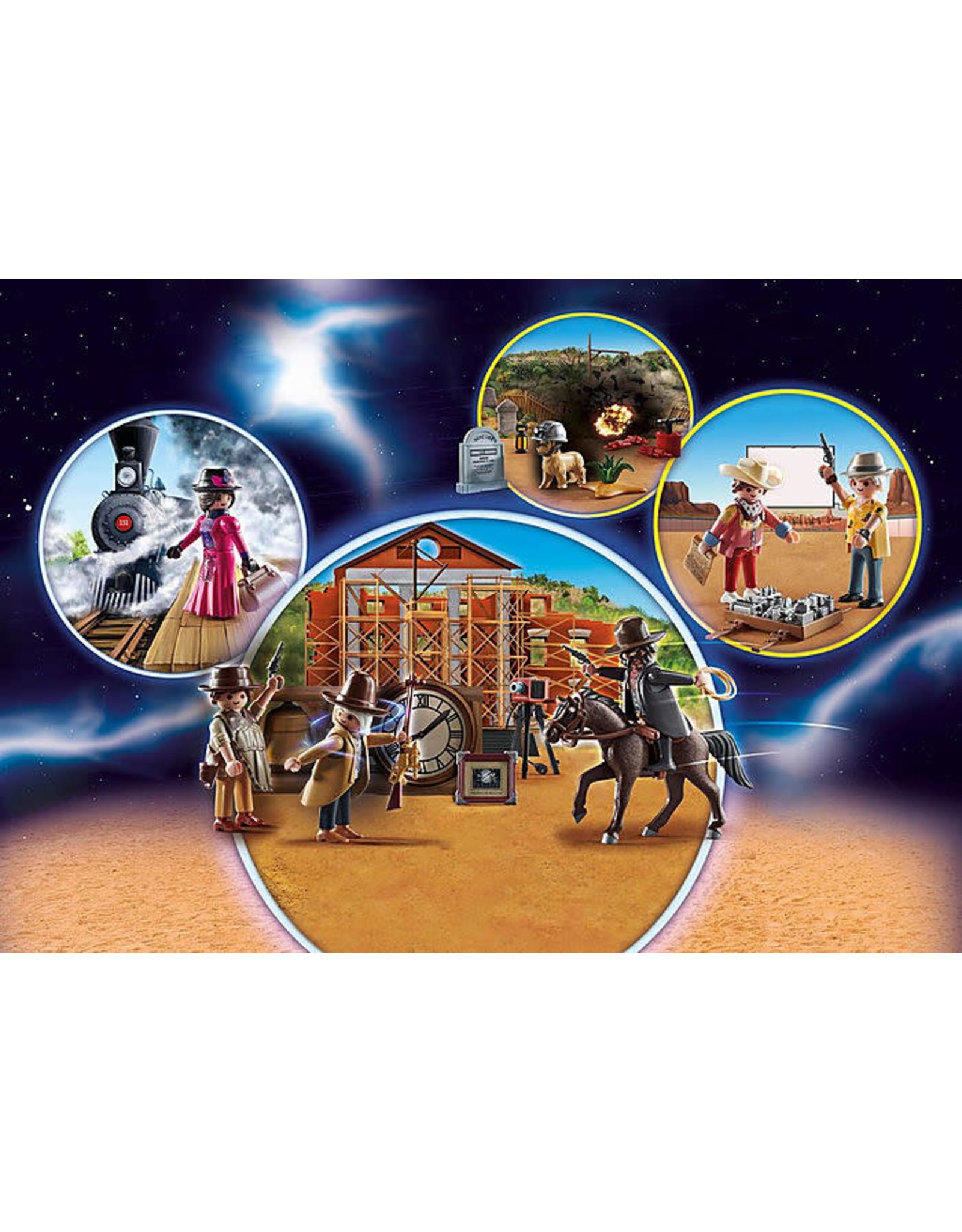 Playmobil Advent Calendar Back to the Future III Western