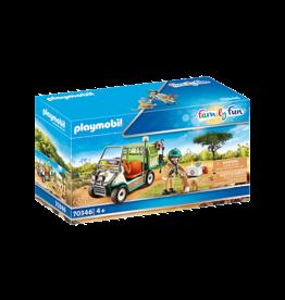 Playmobil Zoo Vet with Medical Cart
