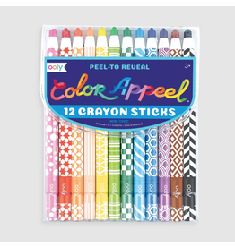 Ooly Color Appeel Crayons, Set of 12