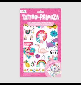 Ooly Tattoo Palooza Temporary Tattoos, Funtastic Friends