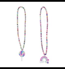 Great Pretenders Lollipop/Rainbow Necklace, Assorted